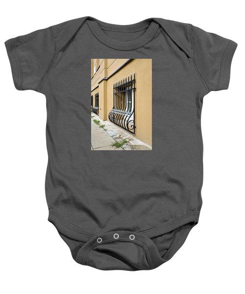Window Bars Baby Onesie