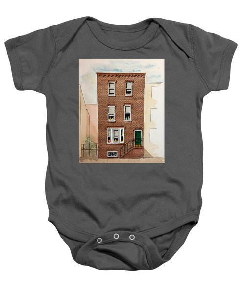615 South Delhi St. Baby Onesie