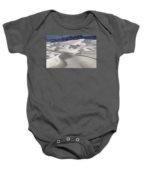 Baby Onesie featuring the photograph Dumont Dunes 8 by Jim Thompson