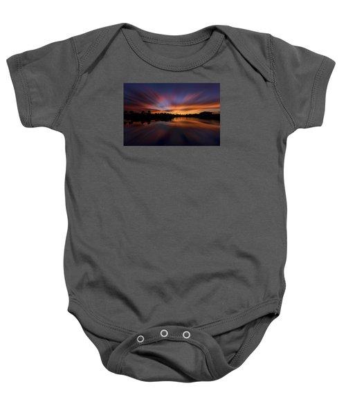 Sunrise At Naples, Florida Baby Onesie