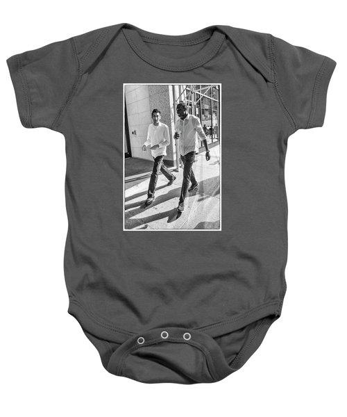 7th Aveune Manhattan. Baby Onesie