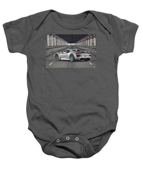 Porsche 918 Spyder  Baby Onesie