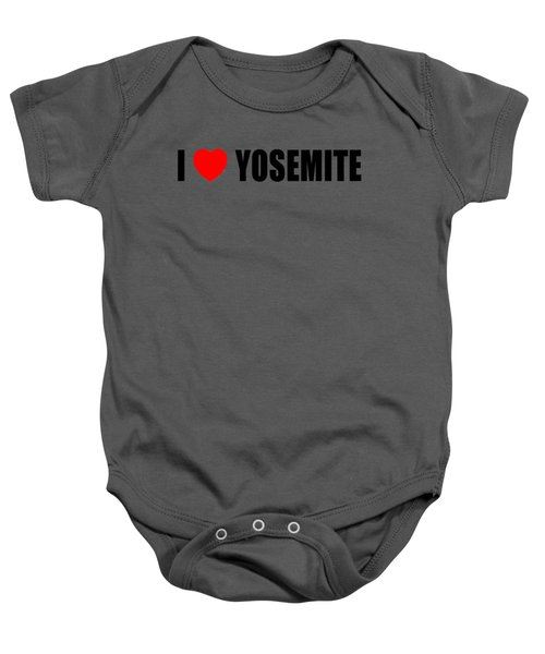 Yosemite National Park Baby Onesie by Brian's T-shirts