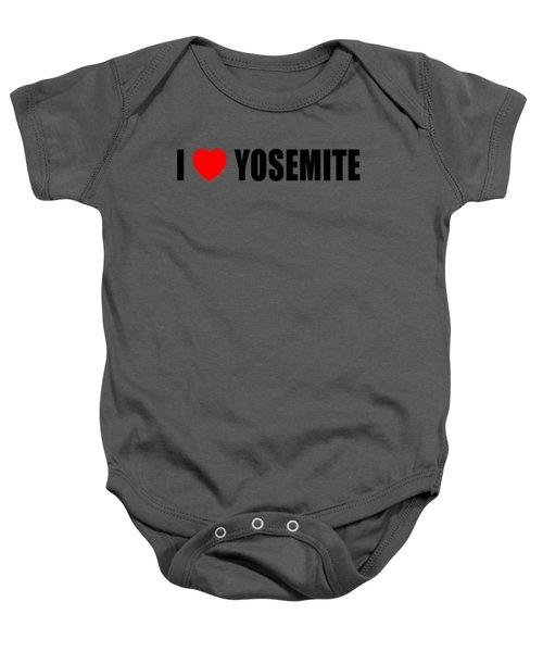 Yosemite National Park Baby Onesie