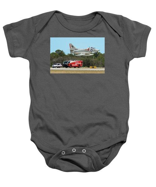 A-4 / Firetruck Baby Onesie