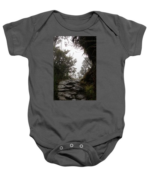 A Bend In The Path Baby Onesie