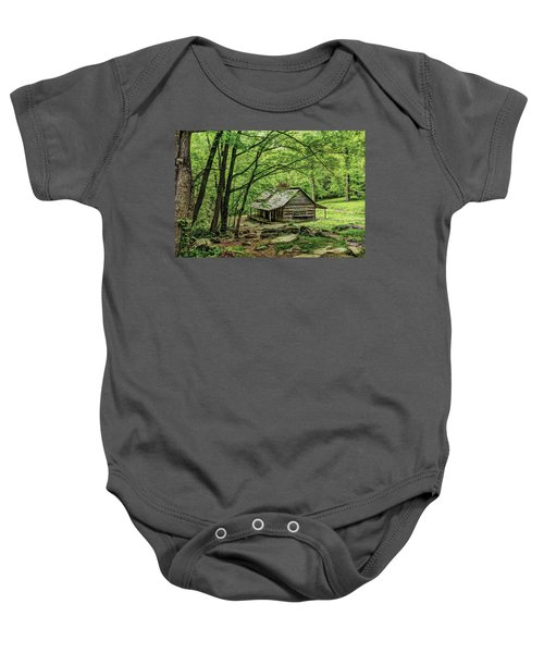 A Cabin In The Woods Baby Onesie