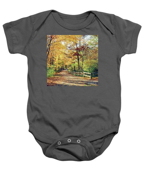 A Colorful Walk Baby Onesie