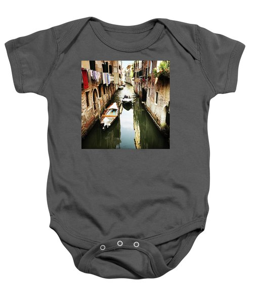 A Corner In Venice Baby Onesie