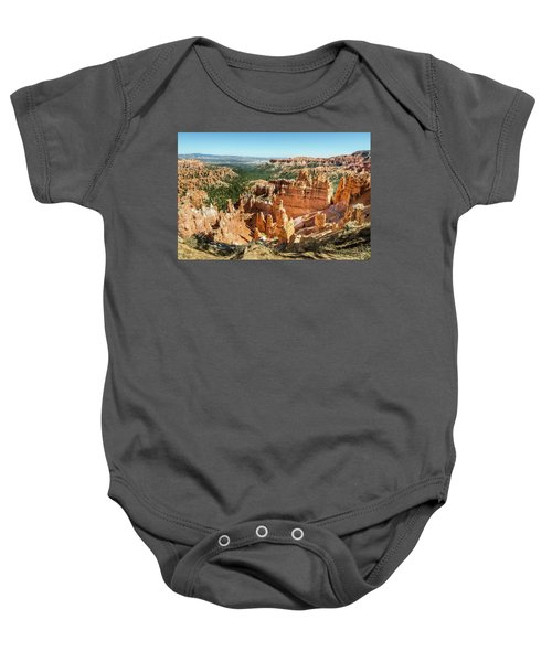 A Day In Bryce Canyon Baby Onesie