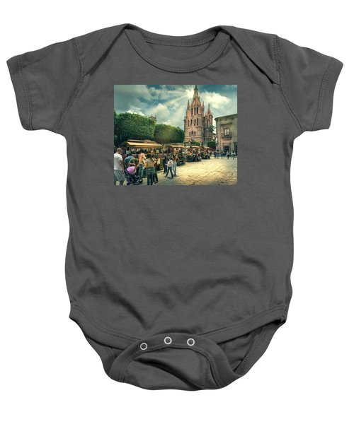 A Day With The Family Baby Onesie
