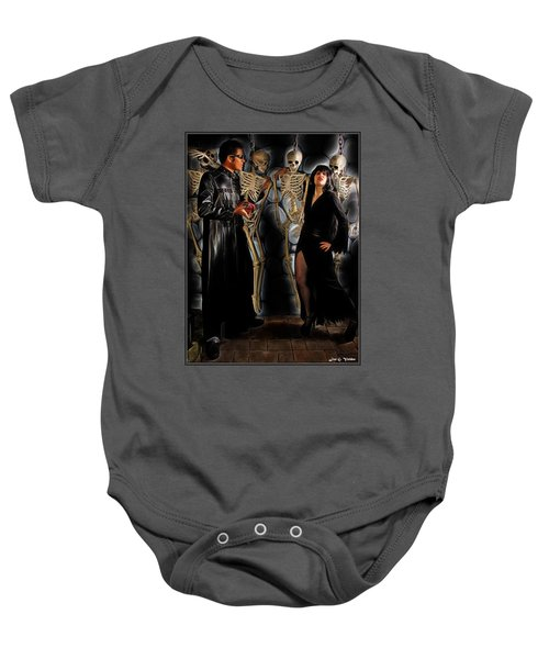 A Dead Mans Party Baby Onesie