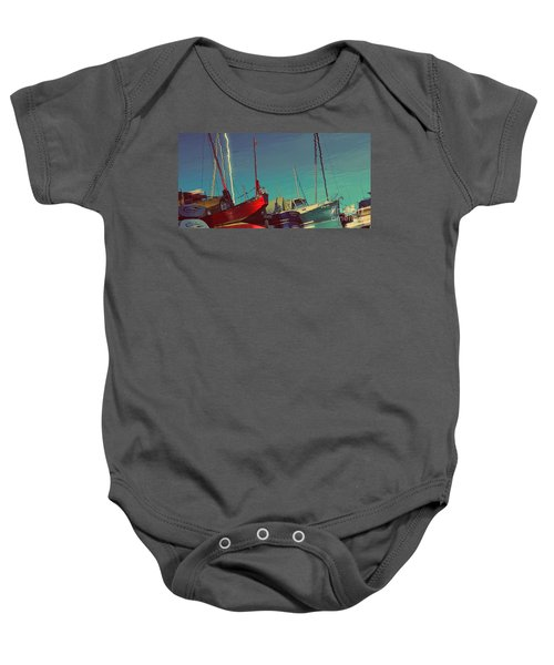 A Different View Baby Onesie