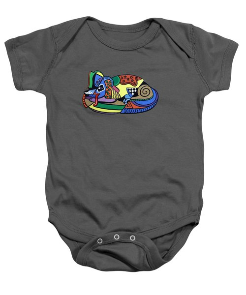 A Dog Named Picasso T-shirt Baby Onesie