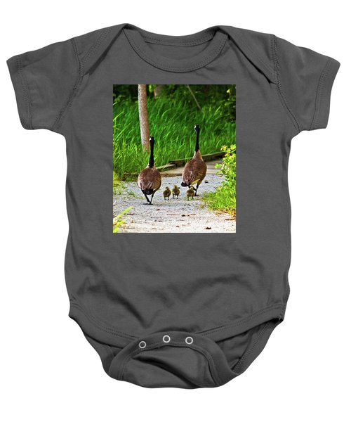 A Family Stroll Baby Onesie