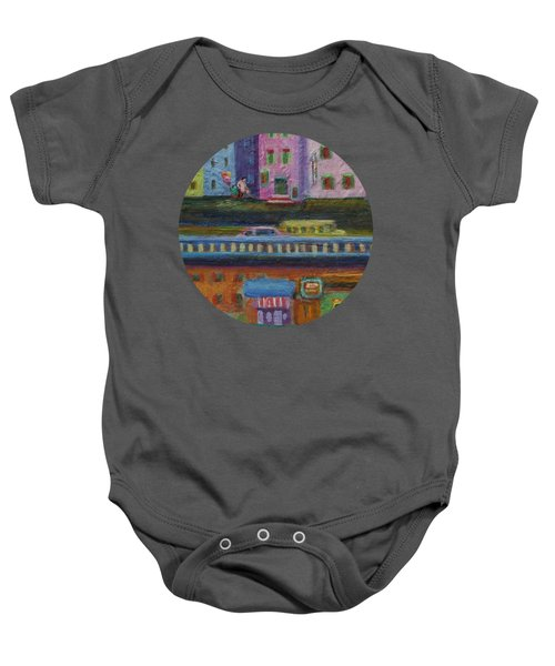 A Fine Day For Balloons Baby Onesie