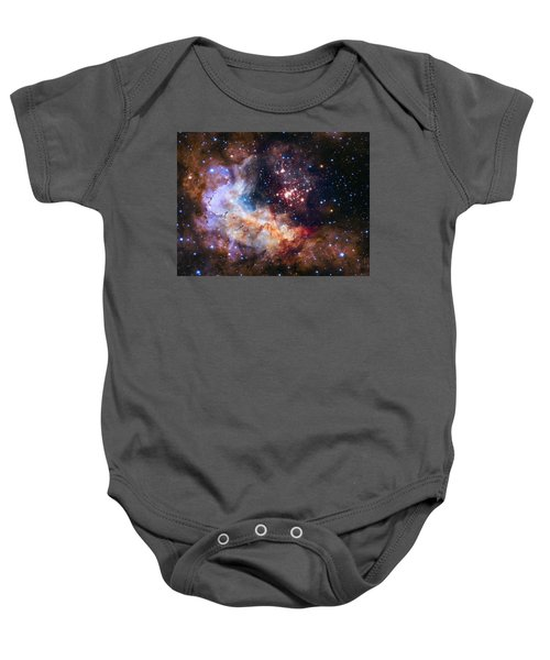 a giant cluster of about 3,000 stars called Westerlund Baby Onesie