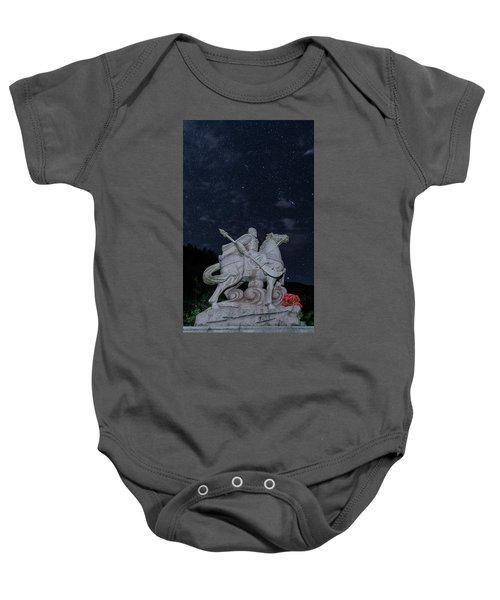 A Hero's Starscape Baby Onesie