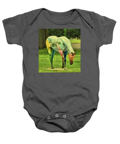 A Horse Is A Horse Baby Onesie