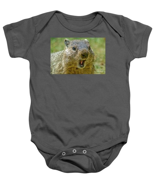 A Hungry Fellow  Baby Onesie