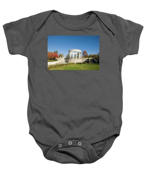 A Place Of Peace Baby Onesie by Jose Rojas
