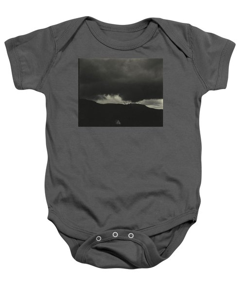 A Sequence Of Ten Cloud Photographs Baby Onesie
