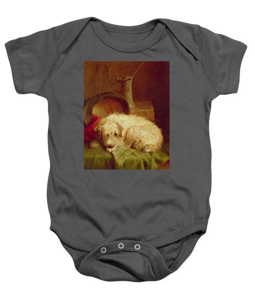 A Terrier Baby Onesie