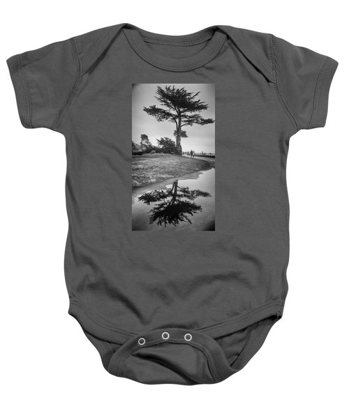 A Tree Stands Tall Baby Onesie