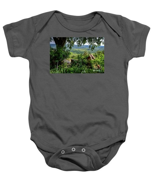 A View From Groznjan Of The Istrian Hill Town Countryside, Istria, Croatia Baby Onesie
