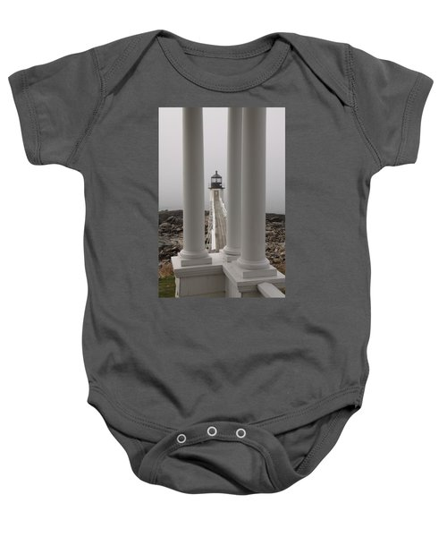 A View From The Porch Baby Onesie