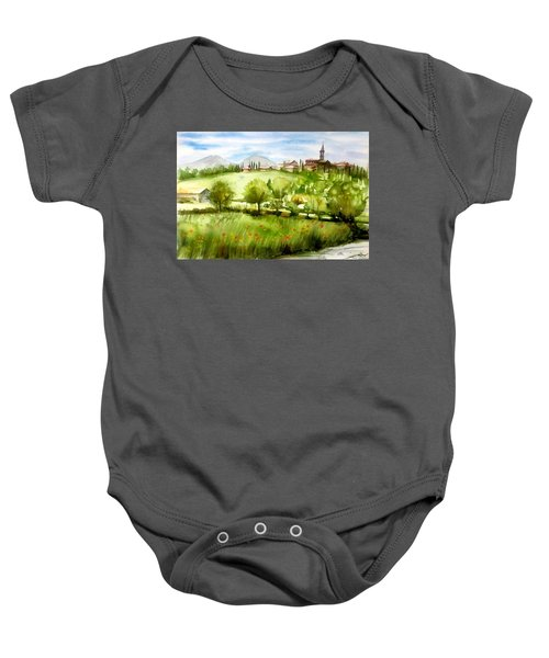 A View From Tuscany Baby Onesie