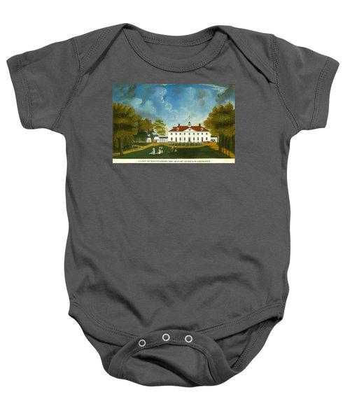 A View Of Mount Vernon Baby Onesie