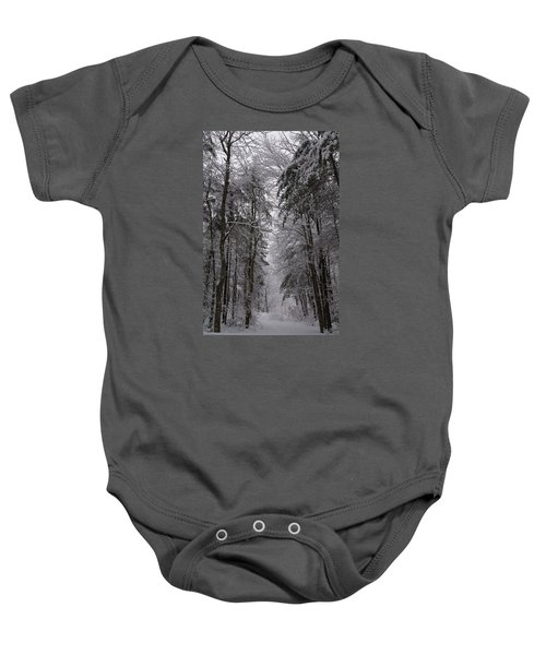 A Winters Path Baby Onesie