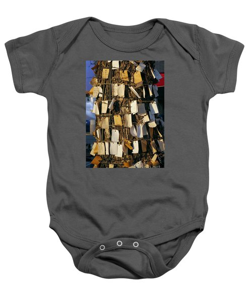 A Wishing Tree With Many Requests Baby Onesie