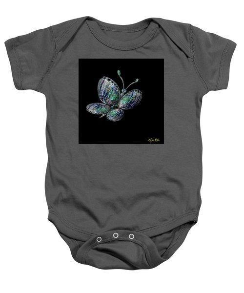 Abalonefly Baby Onesie