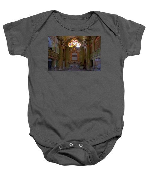 Abandoned Chapel Of An Important Liguria Family I - Cappella Abbandonata Di Famiglia Ligure 1 Baby Onesie