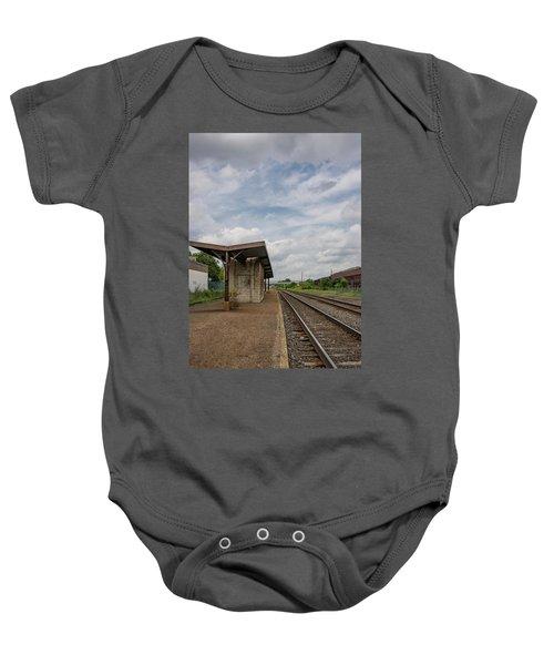 Abandoned Depot Baby Onesie