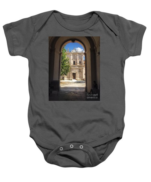Abbey Of The Holy Spirit At Morrone In Sulmona, Italy Baby Onesie