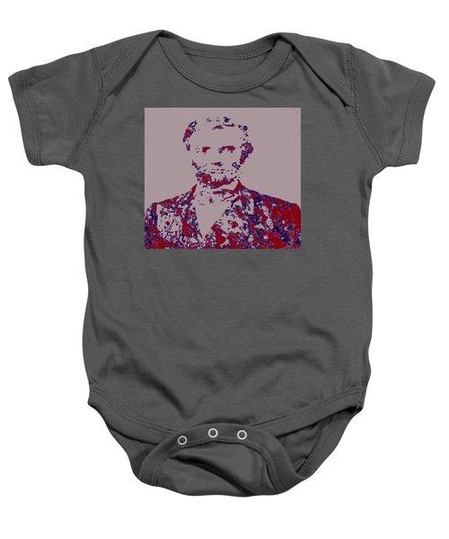 Abraham Lincoln 4c Baby Onesie
