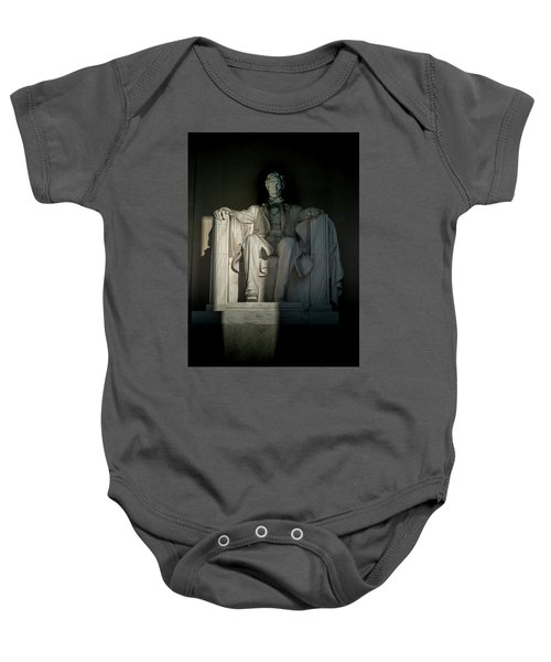 Abraham Lincoln And The Current State Of Affairs Baby Onesie
