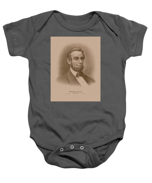 Abraham Lincoln - Savior Of His Country Baby Onesie