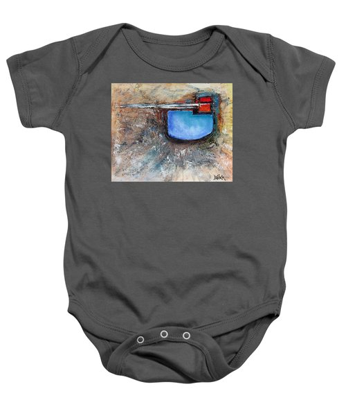 Abstract 200112 Baby Onesie