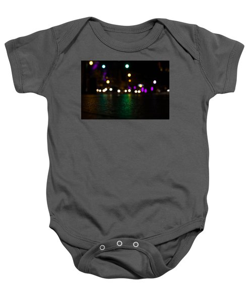 Abstract Color Baby Onesie