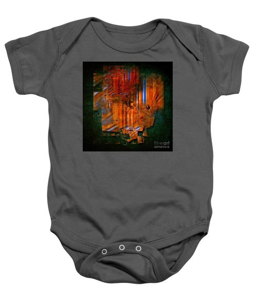 Abstract Fields Baby Onesie