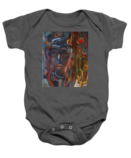 Abstract Man Baby Onesie