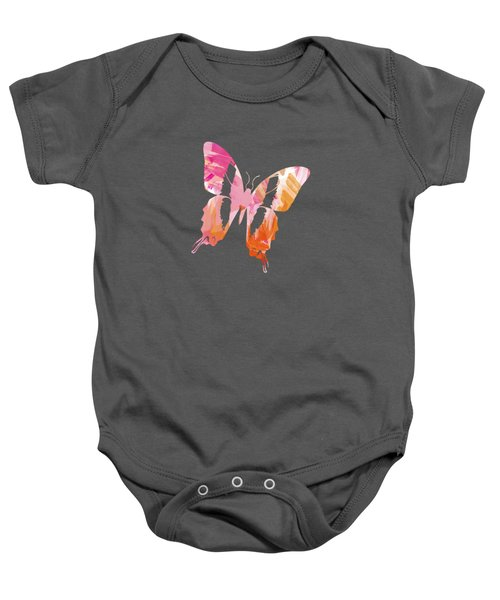 Abstract Paint Pattern Baby Onesie