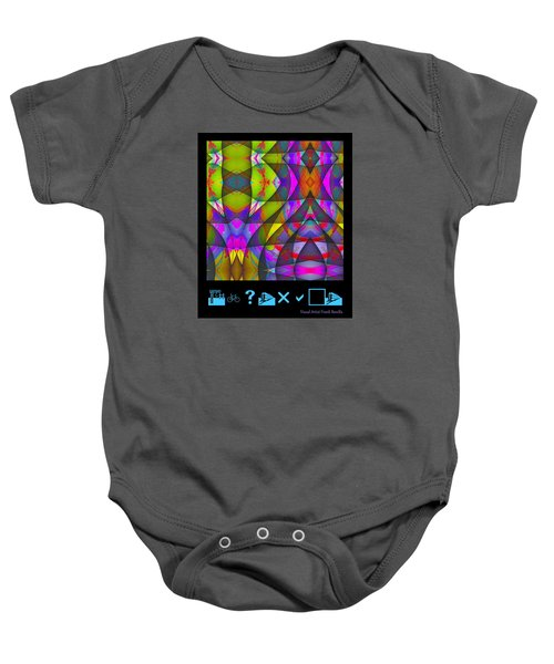 Abstract Baby Onesie