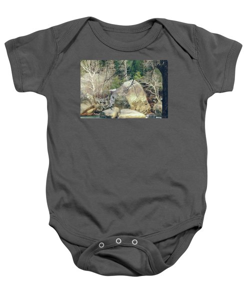 Across From Eagle Falls Baby Onesie