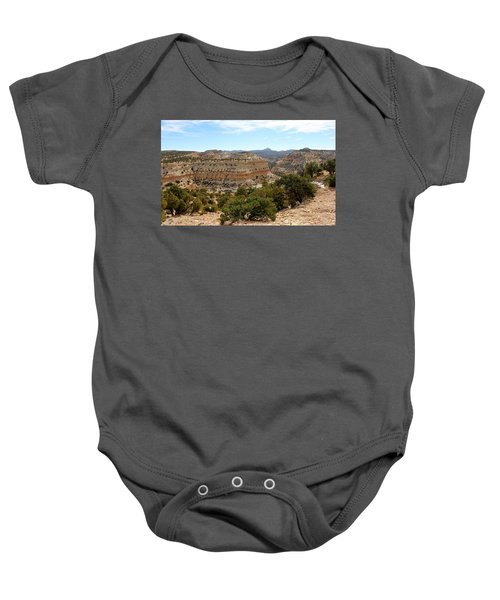 Across Utah  Baby Onesie