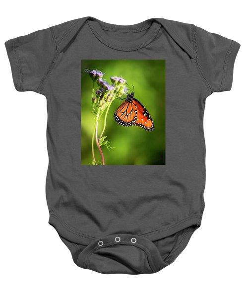 Addicted Queen Butterfly Baby Onesie